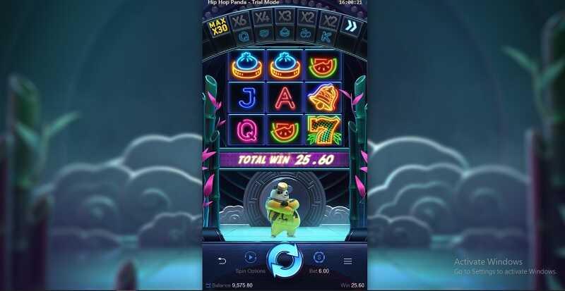 รีวิวเกมสล็อต Hip Hop Panda